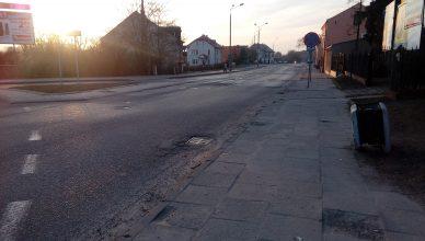Włocławek i okolice - Blog. Ulica grodzka przed remontem.
